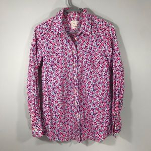 ✨3 for 20 GAP FLORAL COLLARED BUTTON DOWN SHIRT